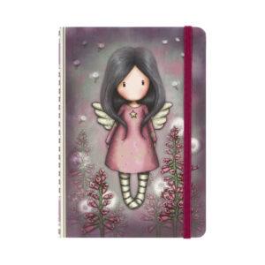 notebook con elastico Little Wings Gorjuss fronte