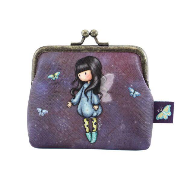 Portamonete clip-clap Bubble Fairy Gorjuss fronte