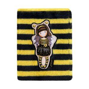 Notebook ecopelliccia Bee-Loved Gorjuss fronte