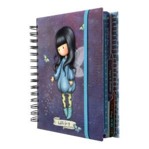 Organiser Notebook Gorjuss front