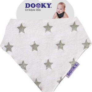 Bavaglio-bandana Dooky stelle argento 126907
