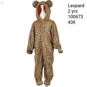 Costume Leopardo Bambino