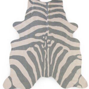Tappeto grigio zebrato childhome