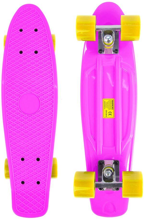 skate piccolo rosa