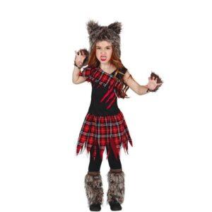 costume lupo bambina