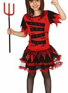 vestito diavolo bambina