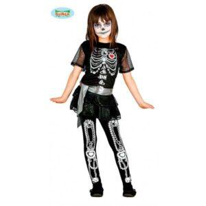 vestito scheletro bambino
